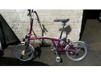 Brompton bicycle. Quick sale needed