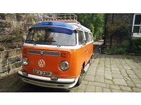 Beautiful 1976 VW T2 Camper Van