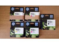 HP Officejet 920XL printer ink cartridges