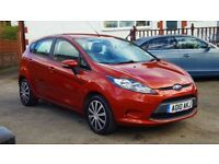 2010 FORD FIESTA 1.2, 5 DR, 68,000 MILES, MOT TILL FEB 2019, PART SERVICE HISTORY, 3 KEEPERS, 2 KEYS