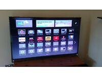 "PANASONIC 55"" TX-55AS802B 3D HD LED WIFI TV £395"