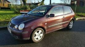 Volkswagen polo 2003 1.4 petrol full service history 10 months mot