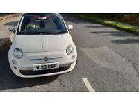 Fiat, 500, Hatchback, 2010, Manual, 1242 (cc), 3 doors £2595