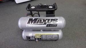 Maxus X-Lite Aluminium Twin Tank Air Compressor WX801700 Acacia Ridge Brisbane South West Preview