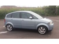 2001(Y)AUDI A2 1.4 SE MET BLUE,NICE SPEC,GREAT RUNNER,CLEAN CAR