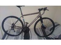 "Vitus mach 3 hybrid / racing bike 54"""
