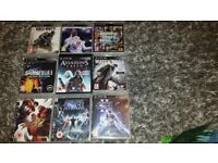 Ps3 21 games 3 controllers
