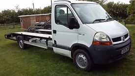 renault master recovery beavertail 16ft superb years mot 2004 low miles 3500
