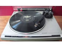 Pioneer PL-320 Direct Drive Auto Return Turntable Record Player