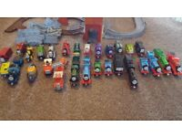 Die cast thomas the tank engine collection and play set