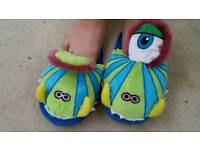 Kids monster stomp slippers fashion footwear feet