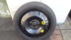 New space saver spare wheel