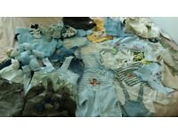 Bundle of baby boy clothes 6-9 months