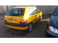 Citreon saxo 1.1forte spare or repair