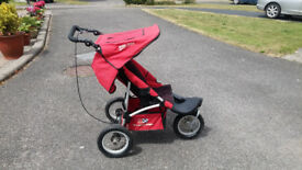 The Red Castle Sport Shop'n Jogg Pushchair
