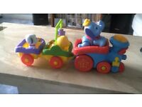 fisher price train and carriages