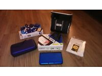 Nintendo 3DS XL Blue boxed in good condition including 9 games