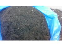 compost fertilizer black peaty top soil mix compost 25kg bags 30ltr delivered 10 or more