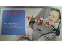 Baby Bjorn Wooden Toy for Babysitter Balance