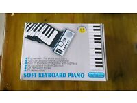 Keyboard Piano New in Box Folds Up