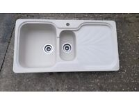 kitchen sink Franke 1.5 bowl with clips