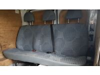 Triple Rear van seats