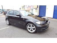 2010 BMW 1 SERIES 2.0 116d ES Dynamic 5 Door, START/STOP, 1 P/OWNER, 2 KEYS, F/D/S/H, BLACK, HPI CLR