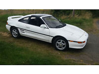 1990 Revision 1 Toyota MR2 G Limited Auto – Automatic