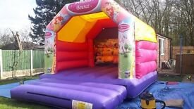 Commercial Princess Castle 12 x 15ft Immaculate