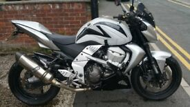 Eyecatching Silver Kawasaki ZR 750 07 1300miles Full MOT Tank Cover, Tail Tidy and Belly Pan