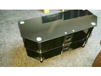 Black Big size tv unit for sale in perfect condition