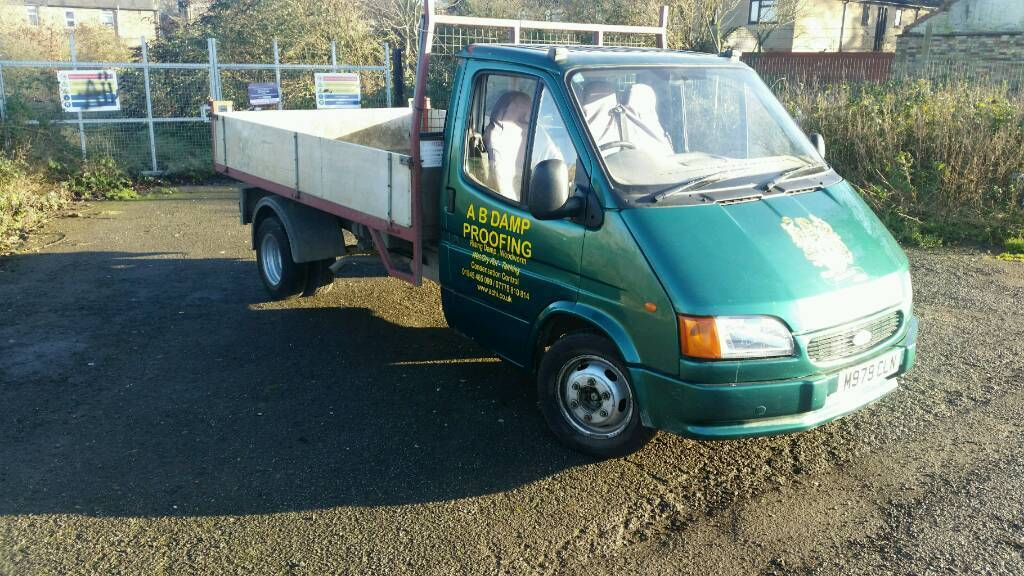 ford transit 1995 190 smiley tipper truck in wisbech cambridgeshire gumtree. Black Bedroom Furniture Sets. Home Design Ideas