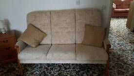 Two 3 Seater Settees