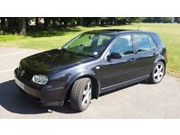 VW GOLF MK4 2.8 v6, 4 Wheel Drive, 6speed, SUPERCHARGED 300BHP not Audi 3.2 or Golf 3.2 R32