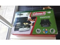 Coleman two burner camping stove
