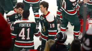 Mooseheads lower bowl tickets Saturday March 16th