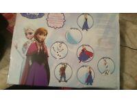 Frozen art kit coluring
