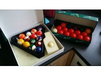 Snooker and Pool balls for sale