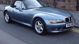 BMW Z3 1.9 Sport 2 Door Convertible, Full Service History, Long MOT, Must be seen!