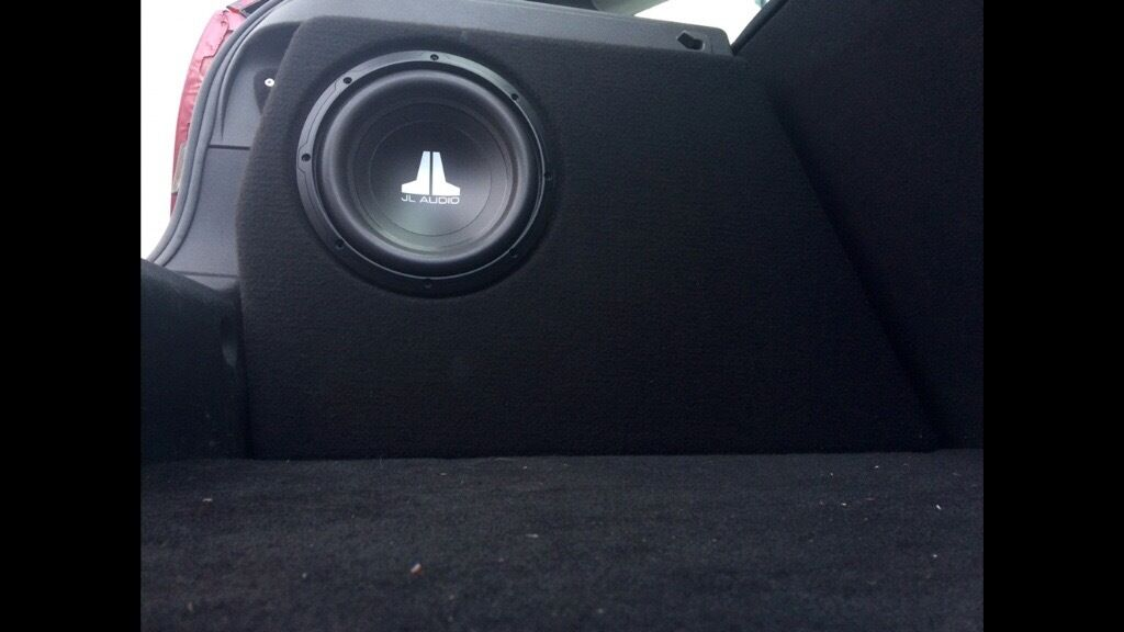 Ford Focus Mk2 Subwoofer Enclosure Sub Not Included