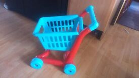 ELC Shopping Trolley, Basket, Food Items & Toaster