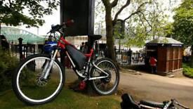 Electric bike. Medium frame
