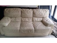 Leather 3 & 2 Seater - Ideal for landlords