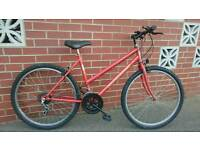 Professional ladies mountain bike mtb commuter town fully serviced perfect working order