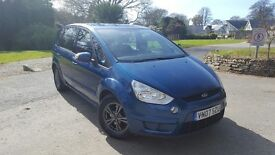2007 Ford S-max Zetec 1.8 tdci 7 Seater. Good Condition, nice colour, good reliable runner.