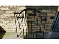 Metal - wrought iron gate
