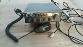 Cb radio and ariel
