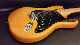 Squier Strat By Fender 20th Anniversary Affinity - Butterscotch