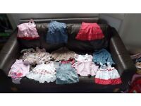 Girl clothing bundle 3-6 months