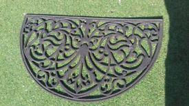 Outside door mat